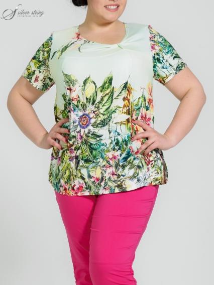 Женская одежда больших размеров - блузка - 2554205