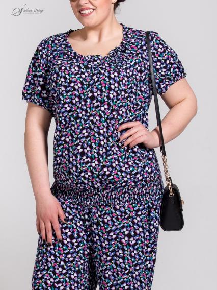 Женская одежда больших размеров - блузка - 2504386