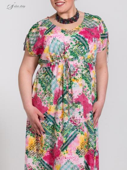 Женская одежда больших размеров - платье - 2505390
