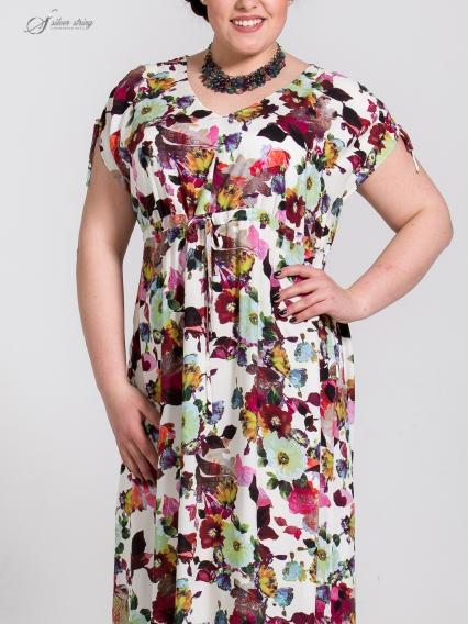 Женская одежда больших размеров - платье - 2505400