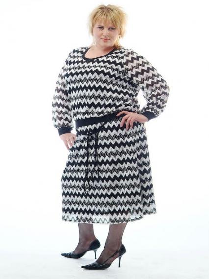 Зимняя одежда большого размера