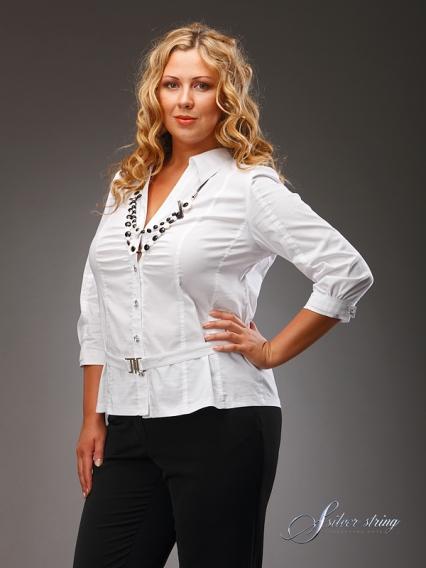 Стильные Блузки Для Полных Женщин В Спб