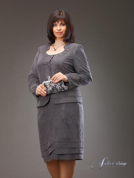 Женская одежда больших размеров юбка