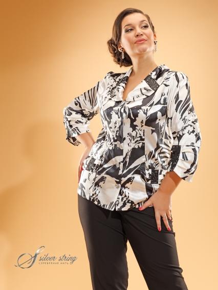 Купить Блузку Женскую 50 Размера Нарядную