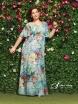 Длинное шифоновое платье укомплектовано нижним платьем-подкладкой, которое позволит скрыть все недочеты фигуры. .
