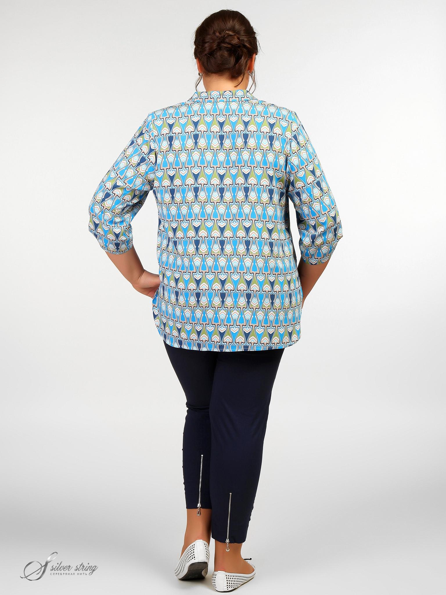 Блузка С Патой На Поясе