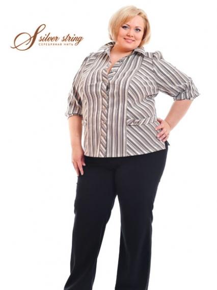 Блузки Большого Размера Женские В Уфе