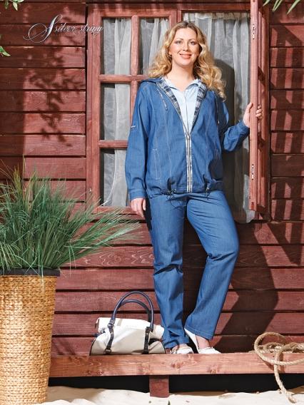 Женская Джинсовая Одежда Больших Размеров С Доставкой