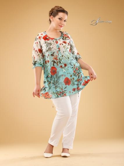 Блузки Для Полных Женщин Оптом
