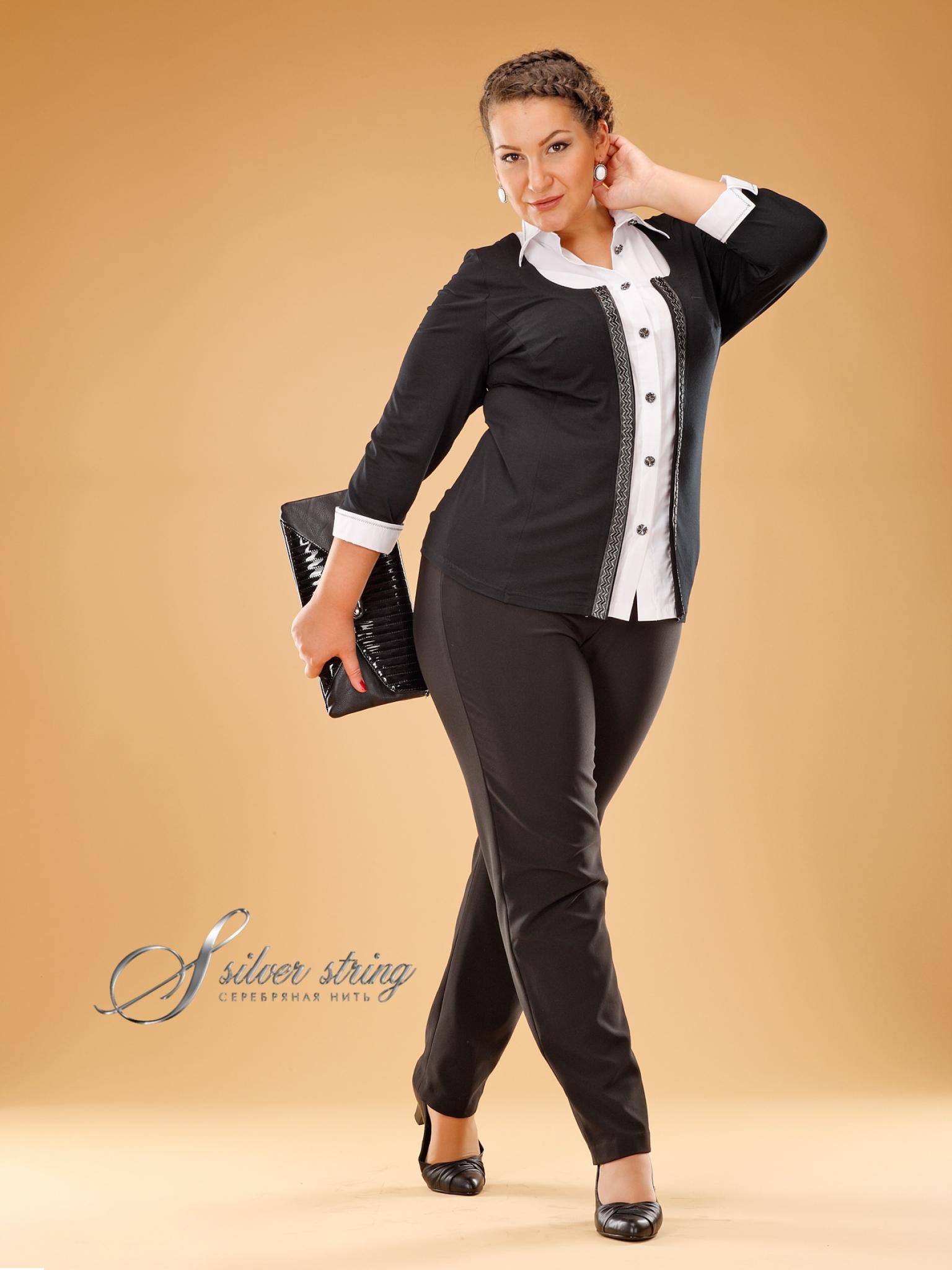 Silver String Одежда Больших Размеров С Доставкой