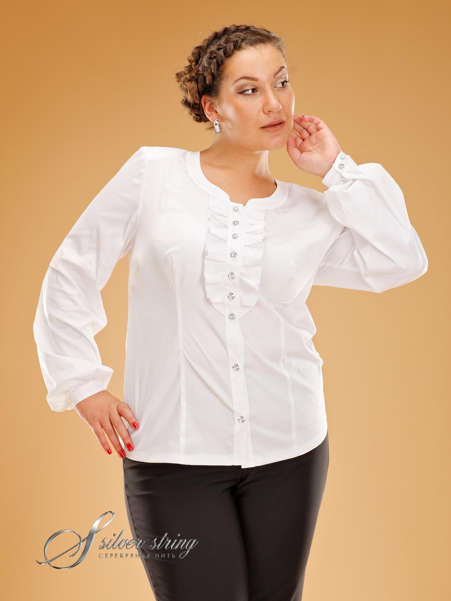 9fc343b7e22 ... большие размеры в. 3167167. Купить нарядную блузку ...