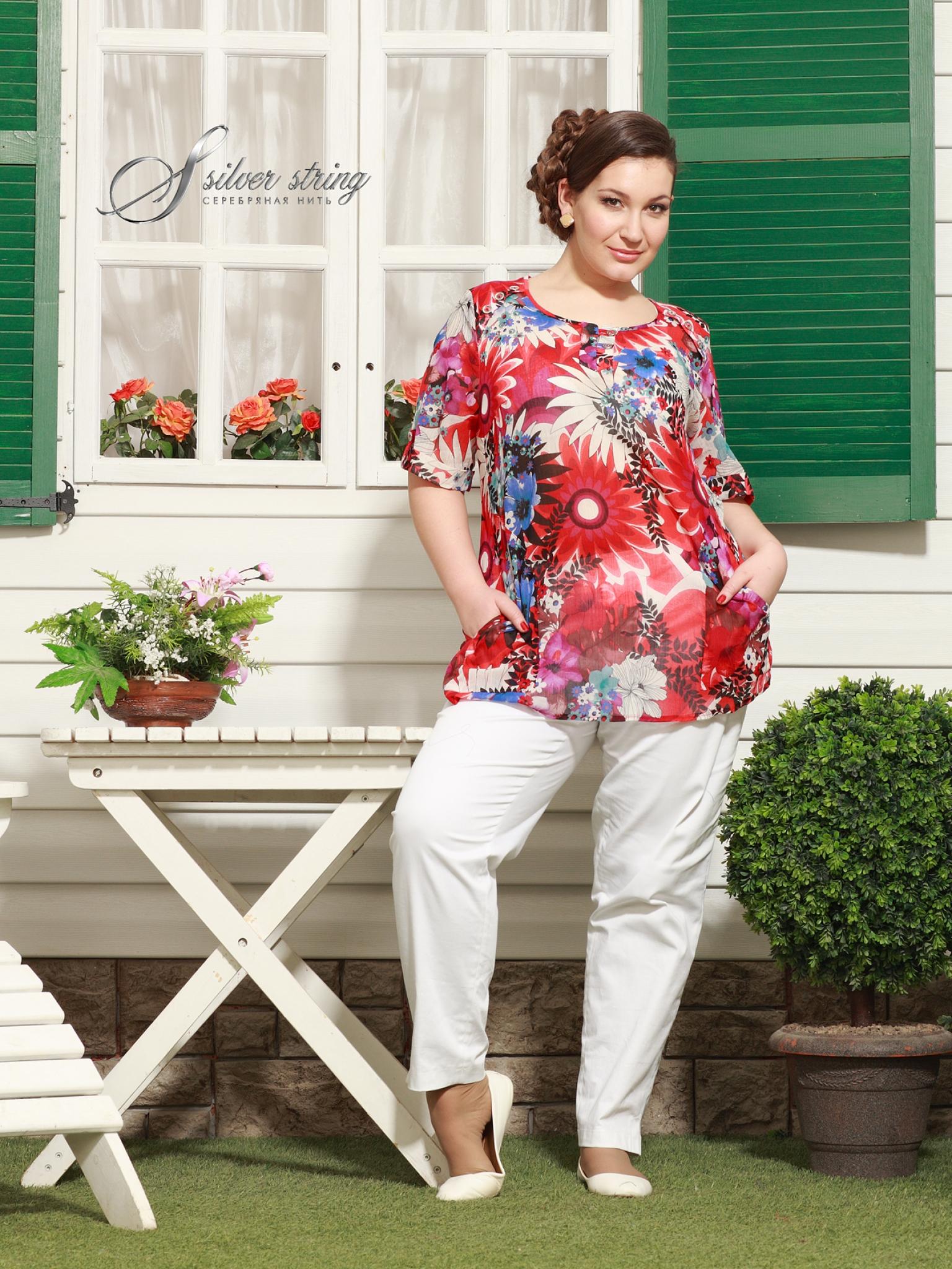 Модные Блузки Большого Размера