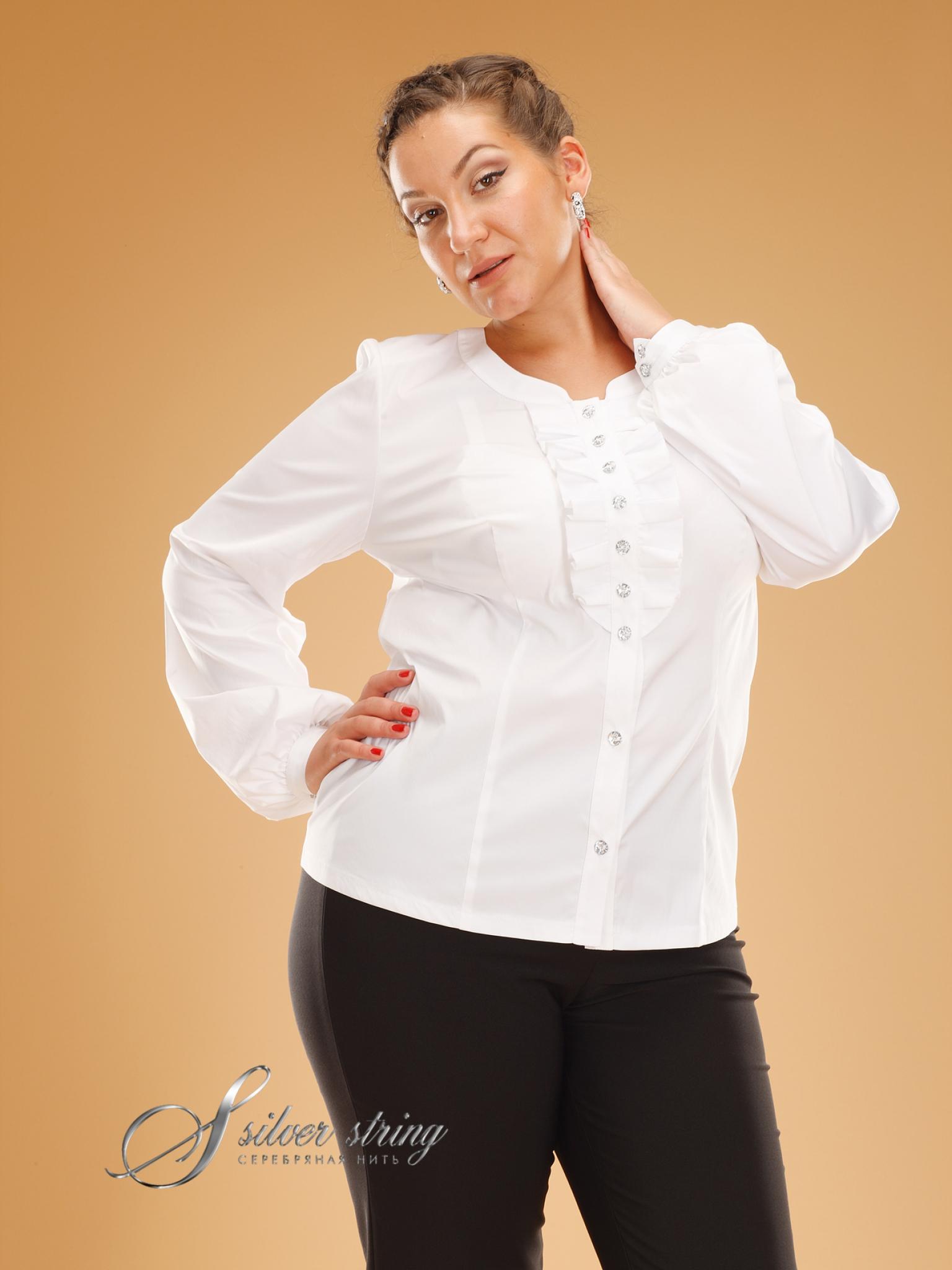Белые Блузки Больших Размеров Купить Доставка